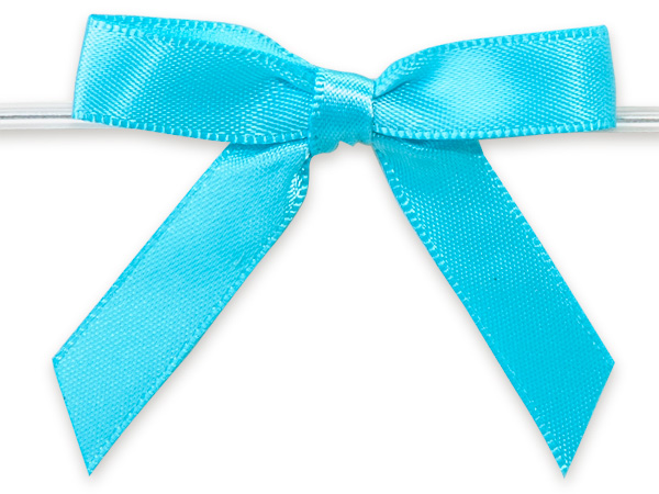 Pre tied gift bow