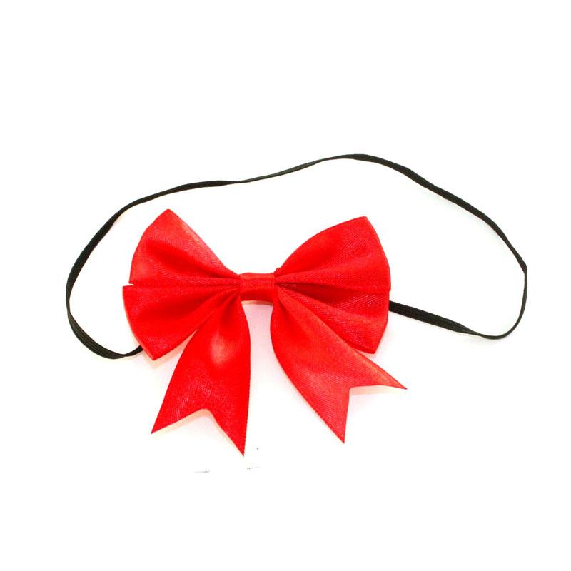 Ribbon Bows With Elastic Loop