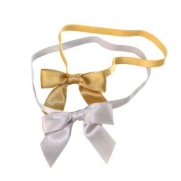 Satin Bows with elastic loop