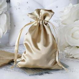 Wedding favors satin gift bags