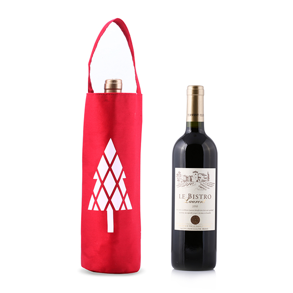 Cotton Wine Gift Bag with Handles