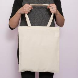 Tote Blank Canvas Cotton Shopping Bags