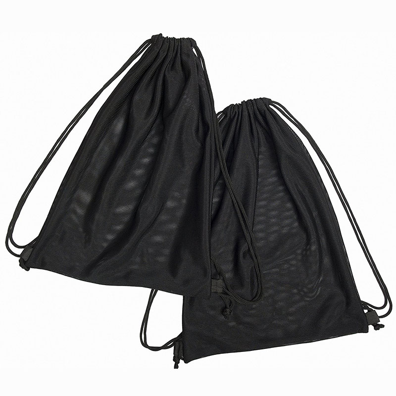 2 Multi Functional Mesh Bag Black