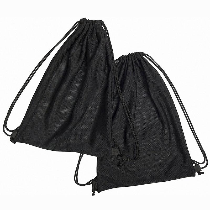 2 Multi Functional Mesh Bag Black