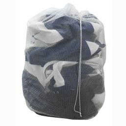 คุณภาพบริการซักรีดตาข่ายสีขาวกระเป๋า