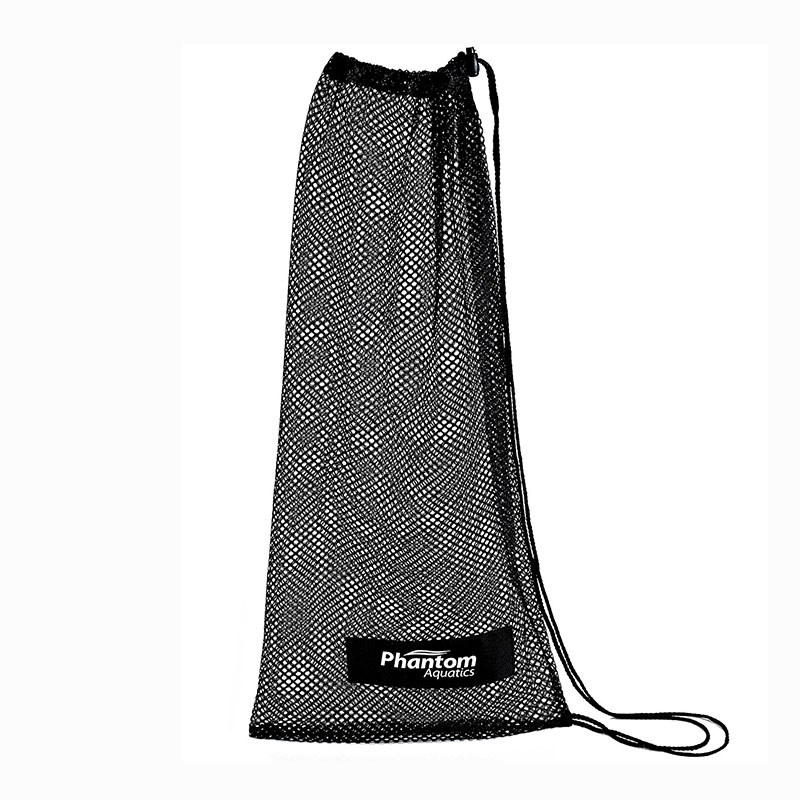 Black Equipment Mesh Wet Kit Swim Bag