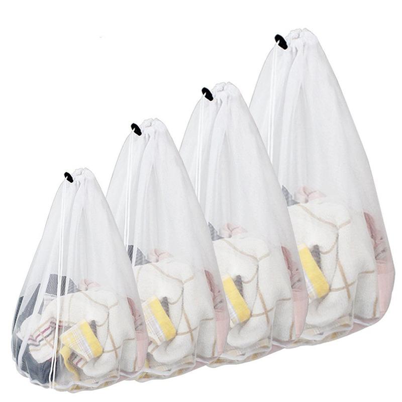 Drawstring Underwear Bra Sock Laundry Bag