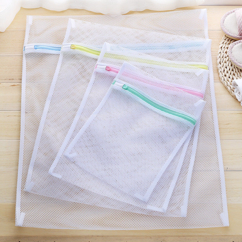 Practical Thick Mesh Laundry Washing Bag