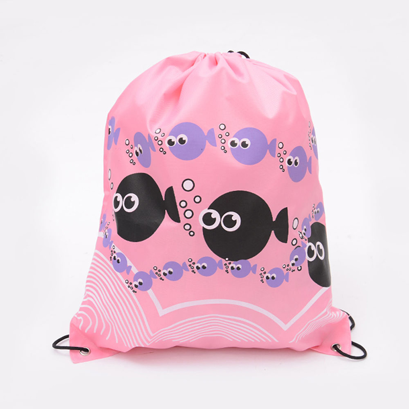 New Drawstring Backpack School Shoulder Bag