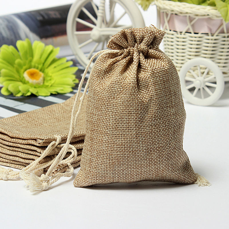 Wedding Drawstring Gift Favor Sack Bags