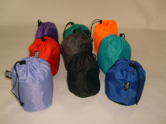 Tiny Stuff Sacks Drawstring Nylon Bag