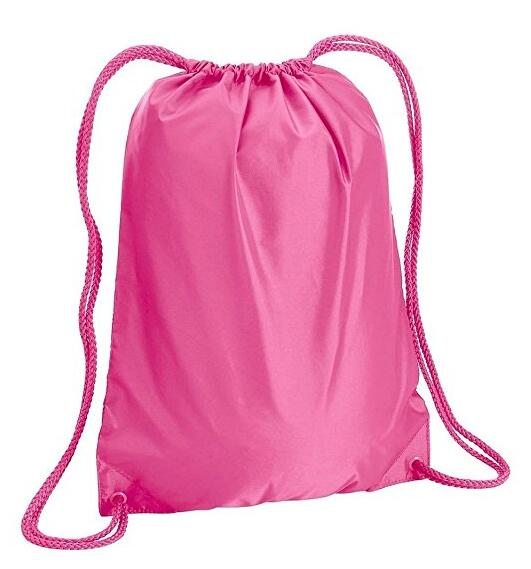 Sport Gym Sack Drawstring Backpack Bag