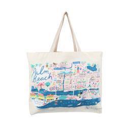 Cotton Beach Bag for Resort Spa