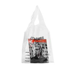 PVC transparente de compras bolso de moda