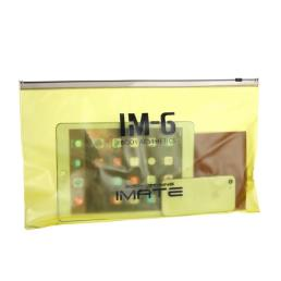 Transparent Plastic Cosmetic Organizer Bag Pouch With Zipper Closure