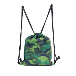Camouflage Cinch Bags for Gym Traveling