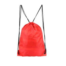Polyester Personalized Training String Bag Orange