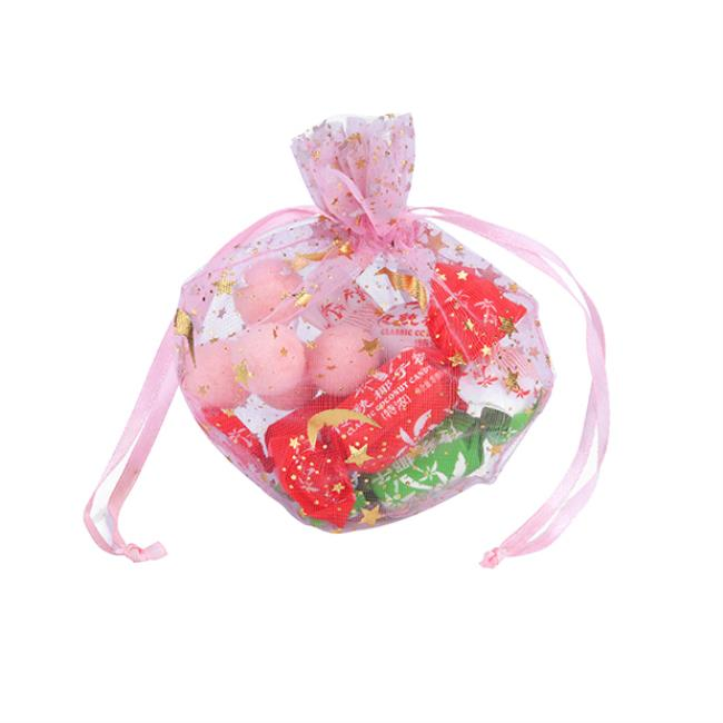 Pink Organza Favor Gift Bag Pouch