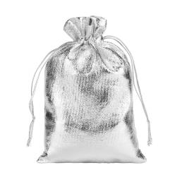 Silver Jewelry Present Gift Bag