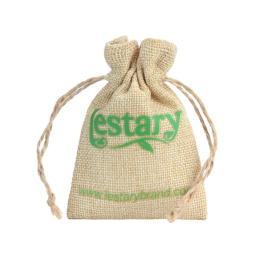 drawstring мешковина в пользу мешок подарков почты