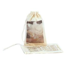 Small Drawstring Cotton Bag Pouch