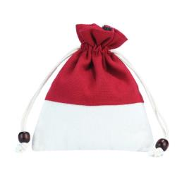 Cotton Bag Pouch with Drawstring