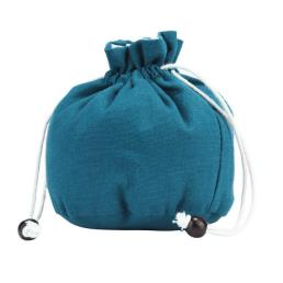 Drawstring Cotton Bag with Double Layer