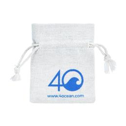 Merchandising Drawstring Cotton Pouch Bag