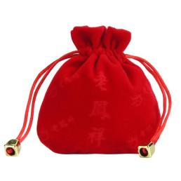 Velvet  Jewelry Gift Pouch with Drawstring