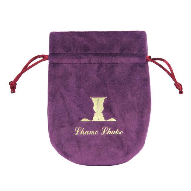 Velvet Jewelry Gift Bag with Drawstring