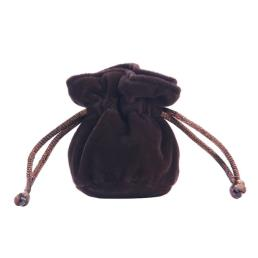 Small Velvet Drawstring Jewelry Bag Pouch