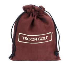 Brown Velvet Drawstring Bag Pouch for Golf