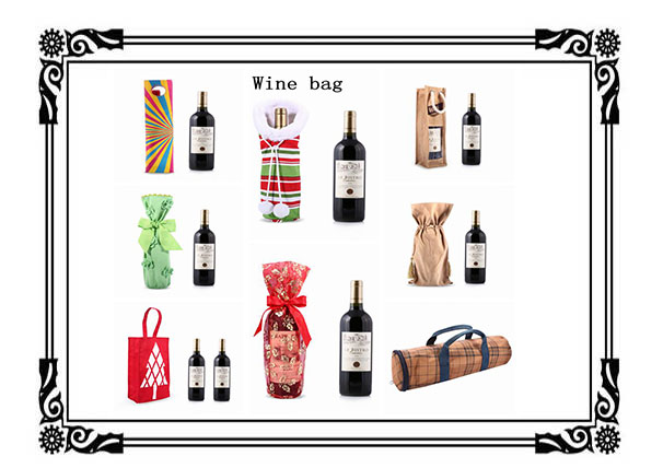 Wine Bags With Bow, travel wine bag,wine handbag,wine in a handbag
