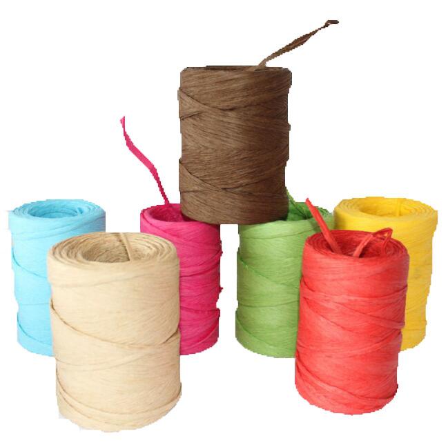 Paper Raffia, Colorful Paper Raffia, Customized Paper Raffia