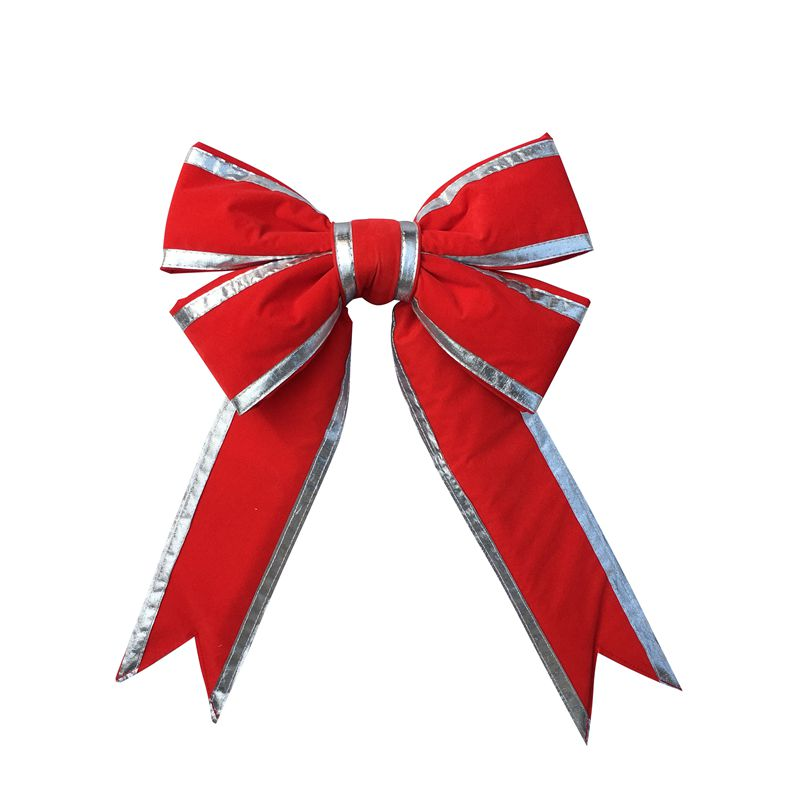 Christmas, outdoor decoration, christmas bows