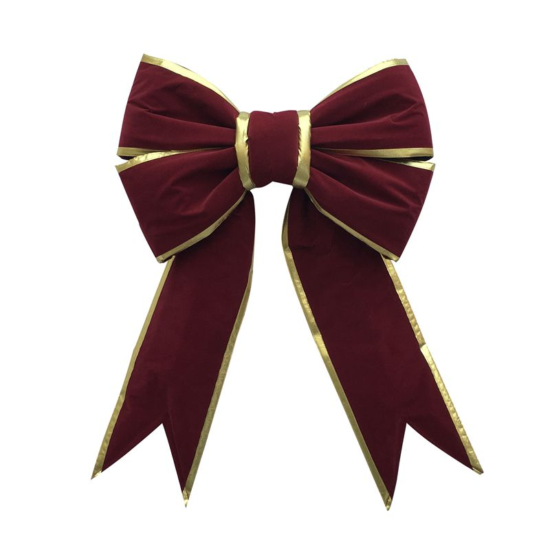 velvet bows, giant bows, Christmas bows, ornaments, holiday bows