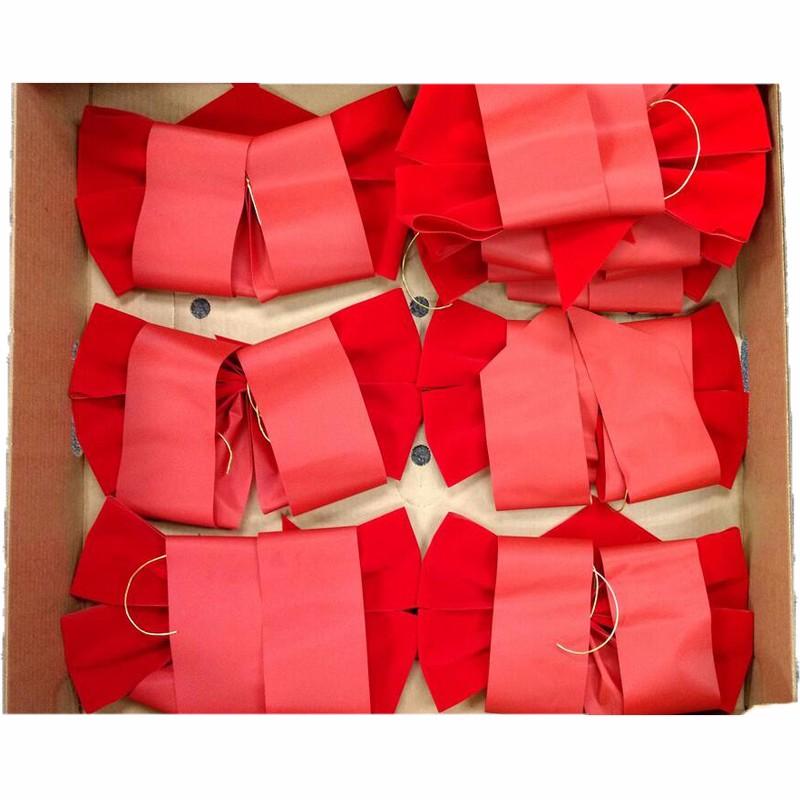 handmade velvet bows, christmas wreath bows, christmas tree decoration