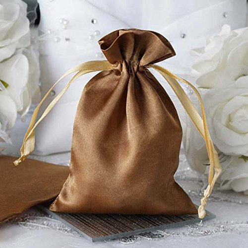 wedding favor, satin bag, favor bags, drawstring bags