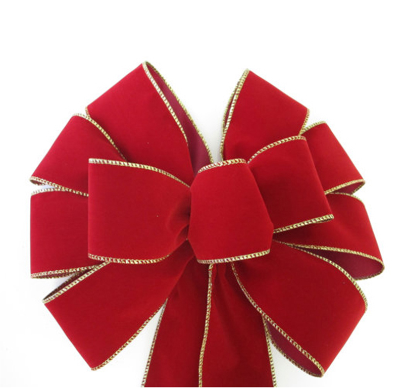 velvet bows, christmas decoration, outdoor decoration, christmas ornaments