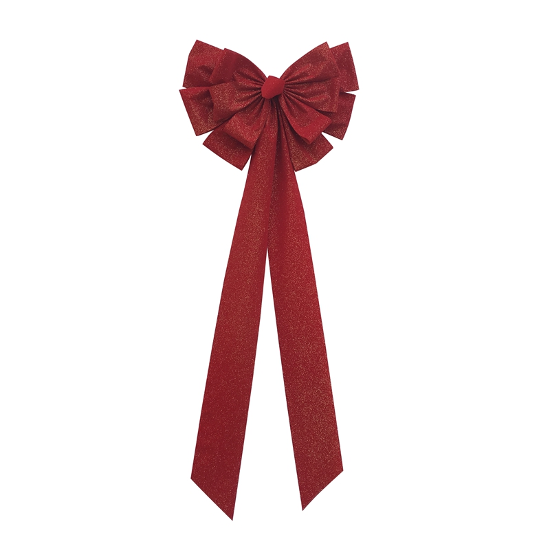 christmas bows, christmas wreath, indoor holiday decoration